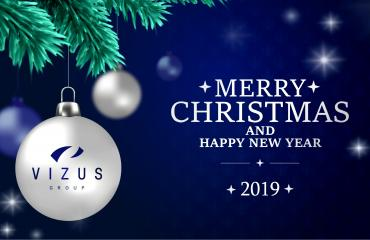 CHRISTMAS & NEW YEAR GREETINGS from VIZUS GROUP