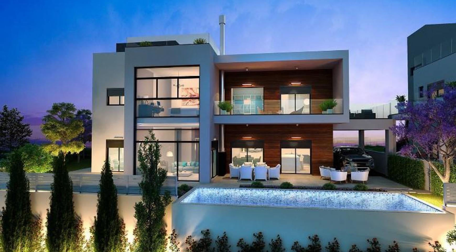 Contemporary 5 Bedroom Villa with Sea Views within a Prestigious Complex - 3