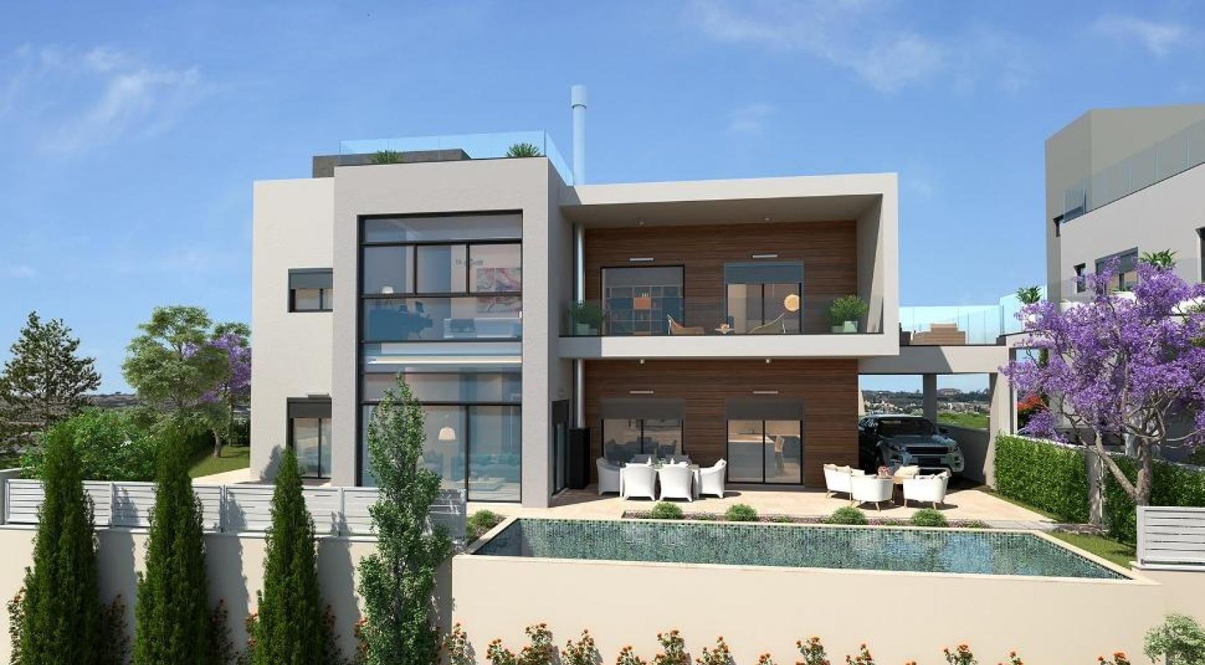 Contemporary 5 Bedroom Villa with Sea Views within a Prestigious Complex - 4