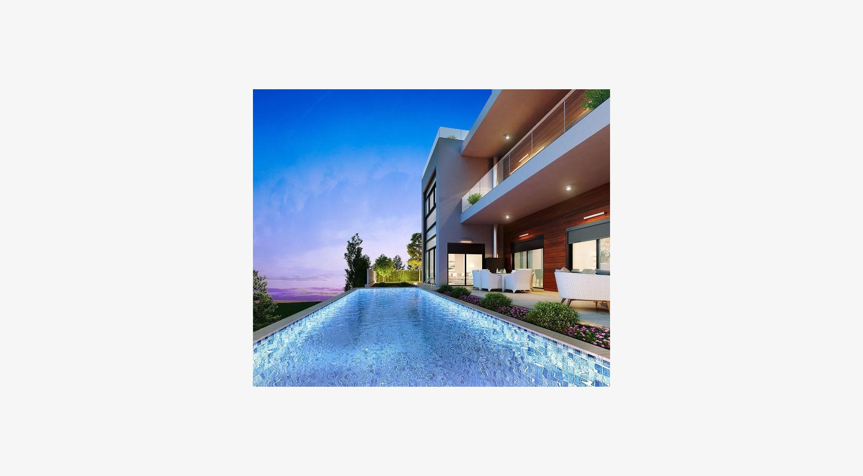 Contemporary 5 Bedroom Villa with Sea Views within a Prestigious Complex - 1