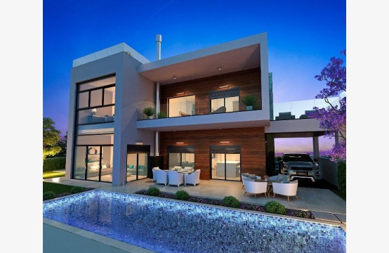 Contemporary 5 Bedroom Villa with Sea Views within a Prestigious Complex