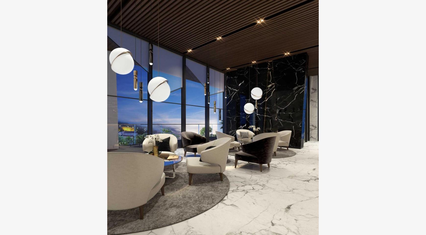 Sky Tower. New Luxury 2 Bedroom Apartment 303 near the Sea - 18