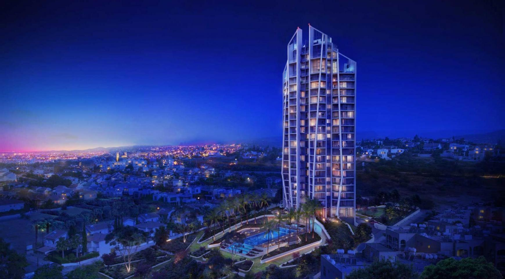Sky Tower. New Luxury 2 Bedroom Apartment 303 near the Sea - 5