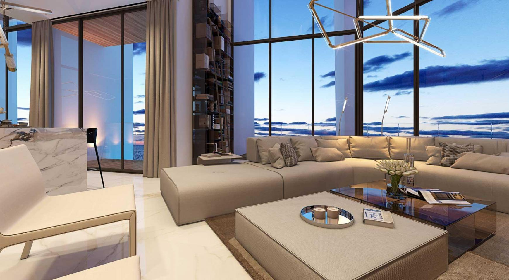 Sky Tower. New Luxury 2 Bedroom Apartment 303 near the Sea - 19