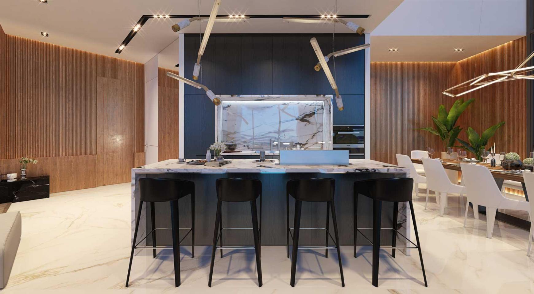 Sky Tower. New Luxury 2 Bedroom Apartment 303 near the Sea - 22