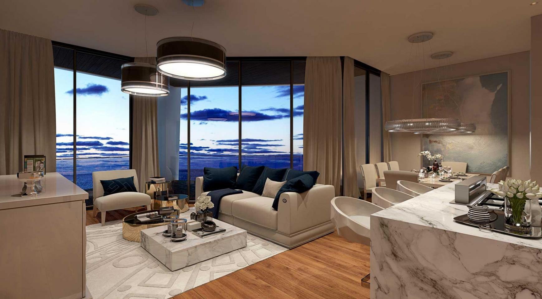 Sky Tower. New Luxury 2 Bedroom Apartment 303 near the Sea - 25