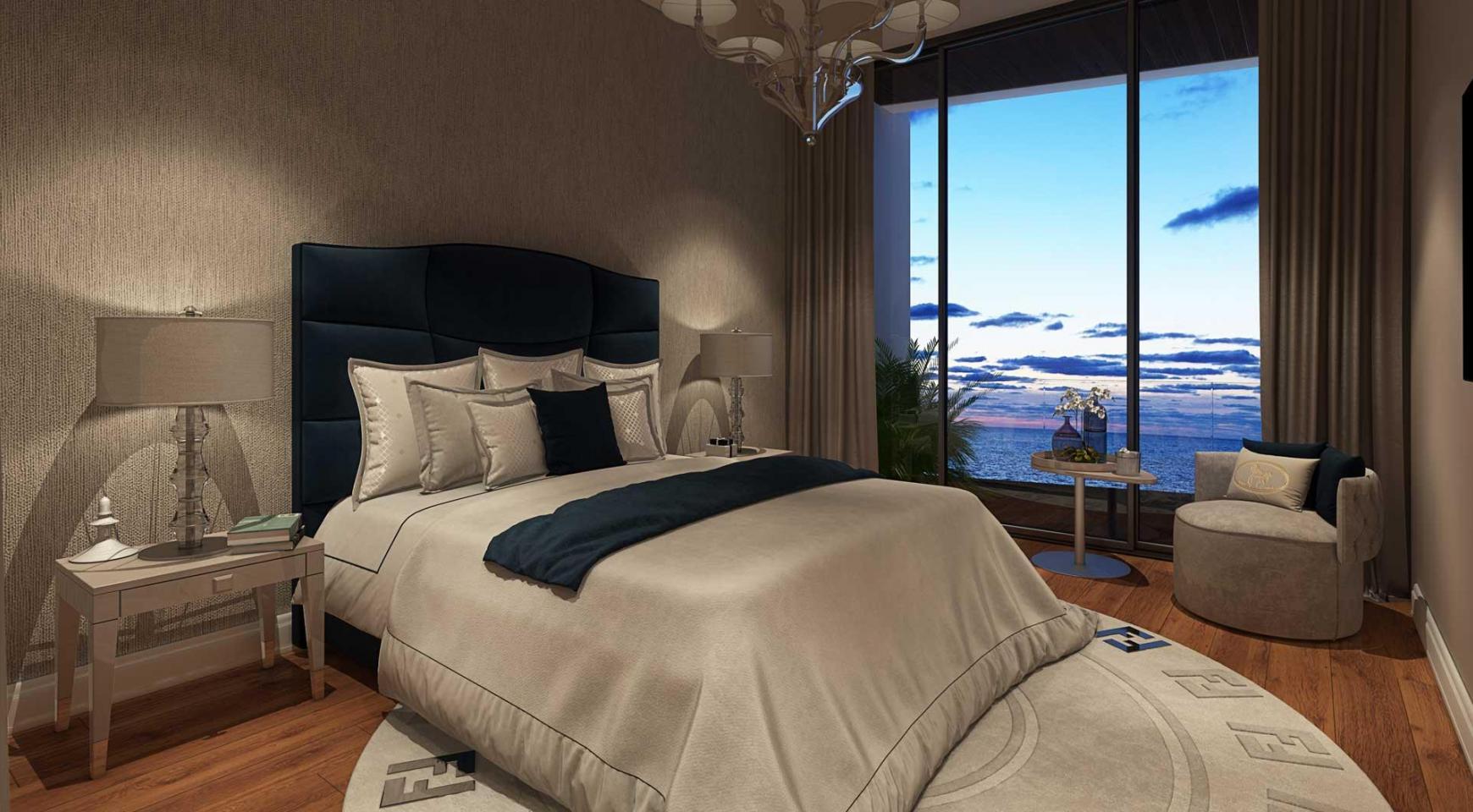 Sky Tower. New Luxury 2 Bedroom Apartment 303 near the Sea - 26