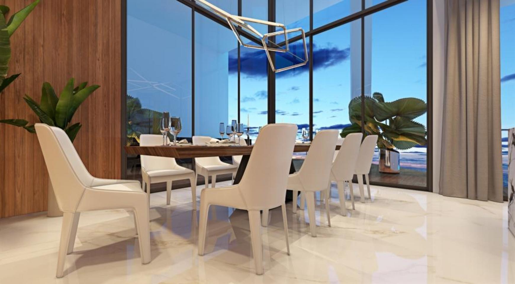Sky Tower. New Luxury 2 Bedroom Apartment 303 near the Sea - 21