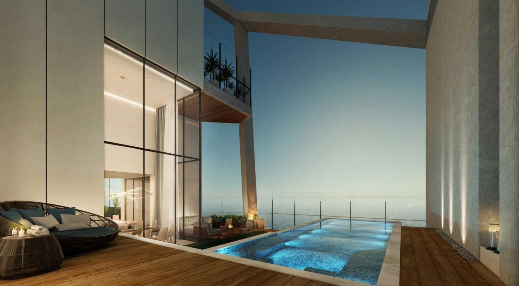 Sky Tower. New Luxury 2 Bedroom Apartment 303 near the Sea - 28