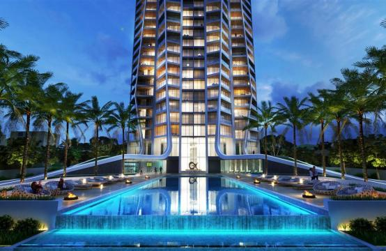 Sky Tower. New Luxury 2 Bedroom Apartment 303 near the Sea
