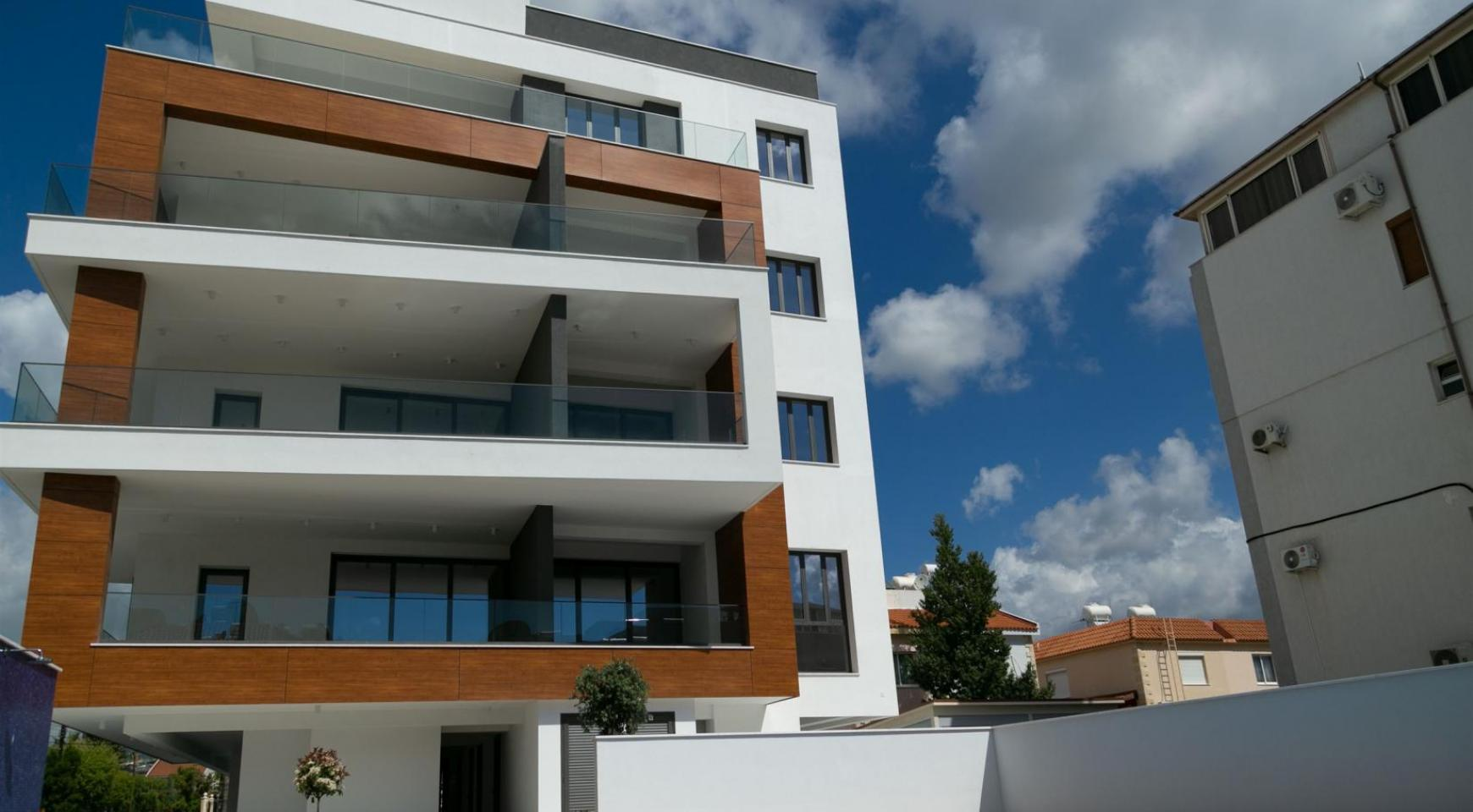 Malibu Residence. Modern One Bedroom Apartment 101 in Potamos Germasogeia - 24