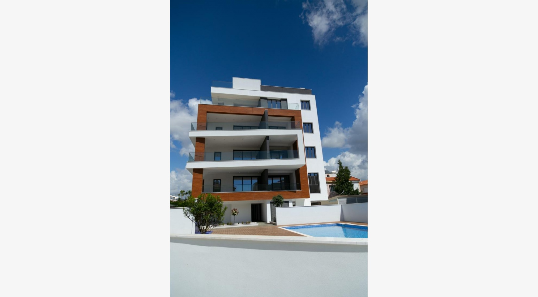 Malibu Residence. Modern One Bedroom Apartment 101 in Potamos Germasogeia - 26