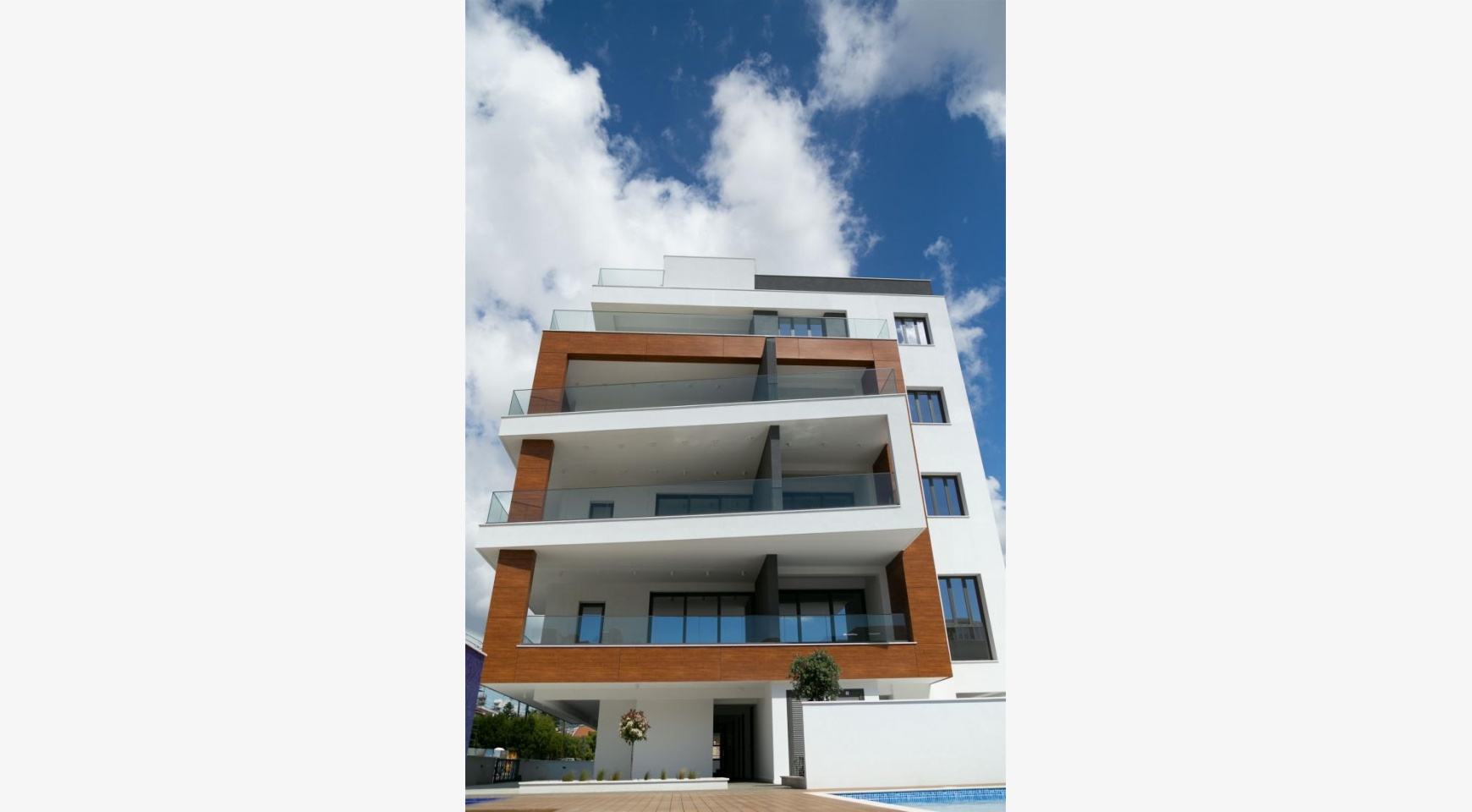 Malibu Residence. Modern One Bedroom Apartment 101 in Potamos Germasogeia - 25