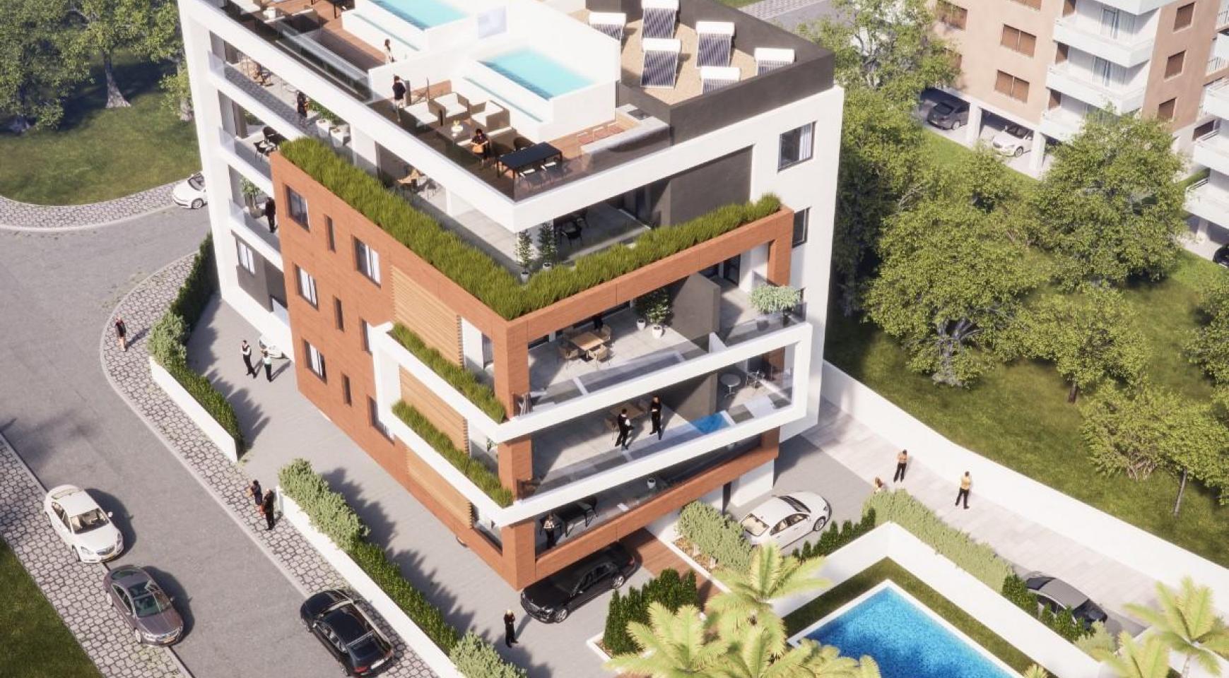 Malibu Residence. Modern 2 Bedroom Apartment 104 in Potamos Germasogeia - 3