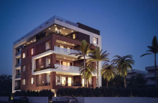 Malibu Residence. Modern 2 Bedroom Apartment 104 in Potamos Germasogeia