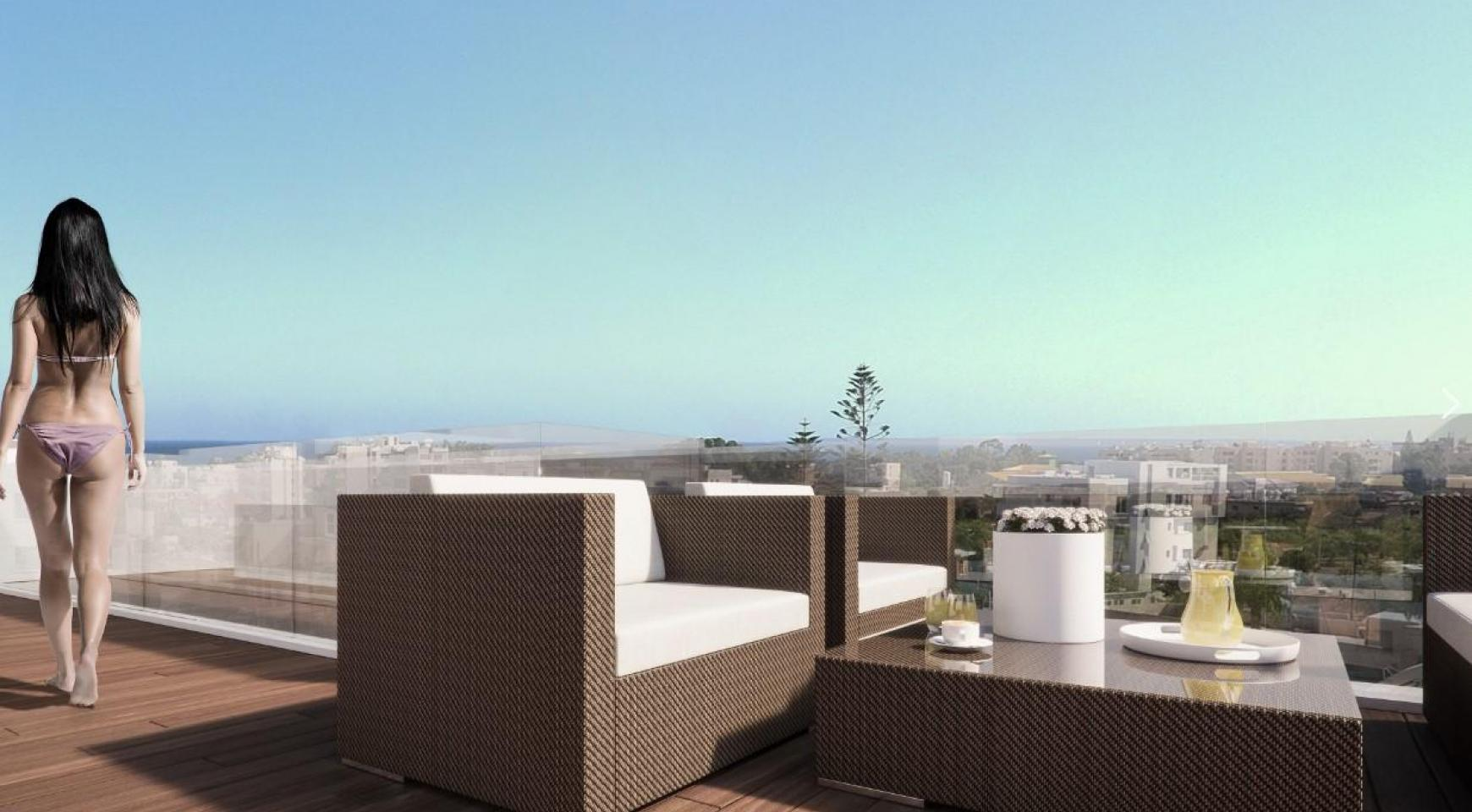 Malibu Residence. Contemporary 2 Bedroom Apartment 201 in Potamos Germasogeia - 7