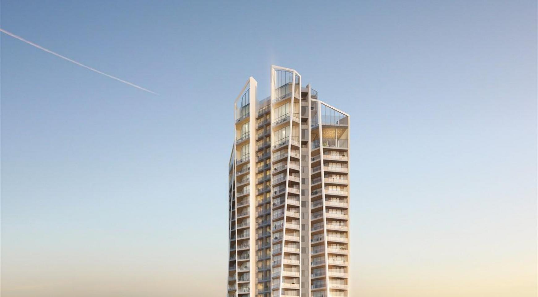 Sky Tower. Modern Spacious One Bedroom Apartment with Sea Views - 4