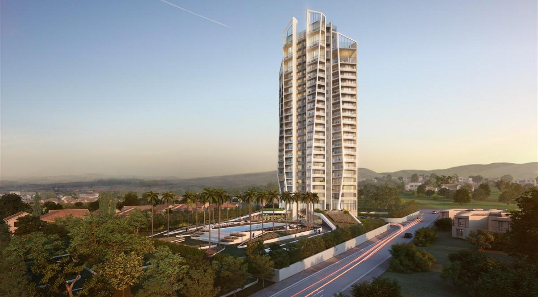 Sky Tower. Modern Spacious One Bedroom Apartment with Sea Views - 2