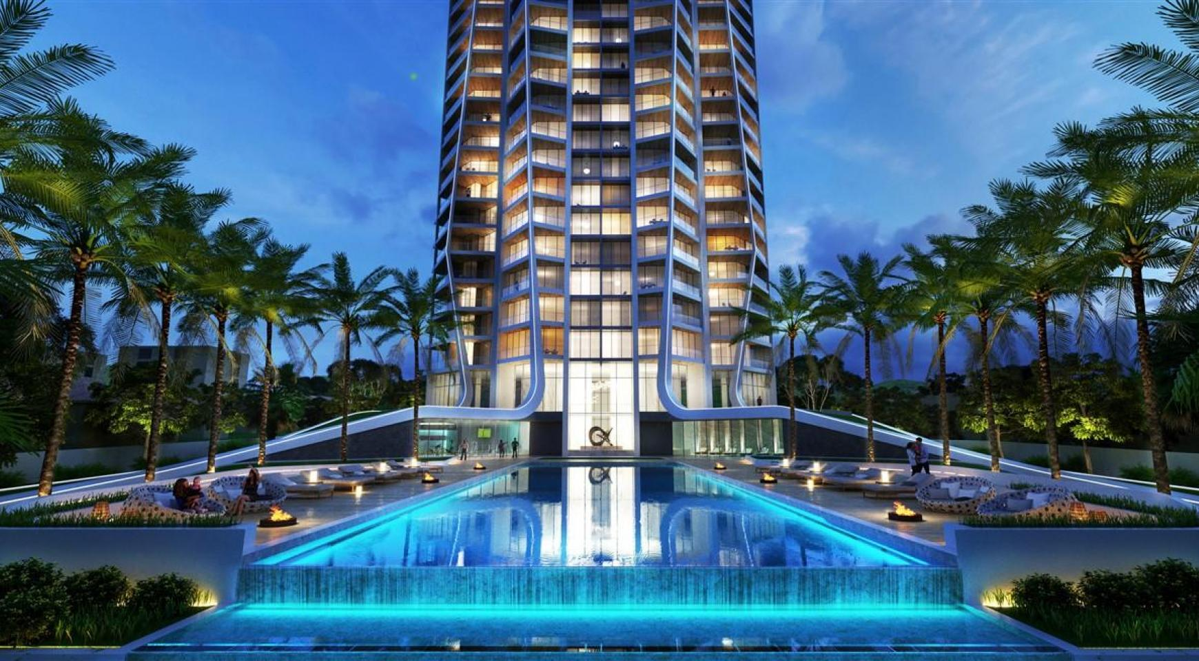 Sky Tower. Modern Spacious One Bedroom Apartment with Sea Views - 3
