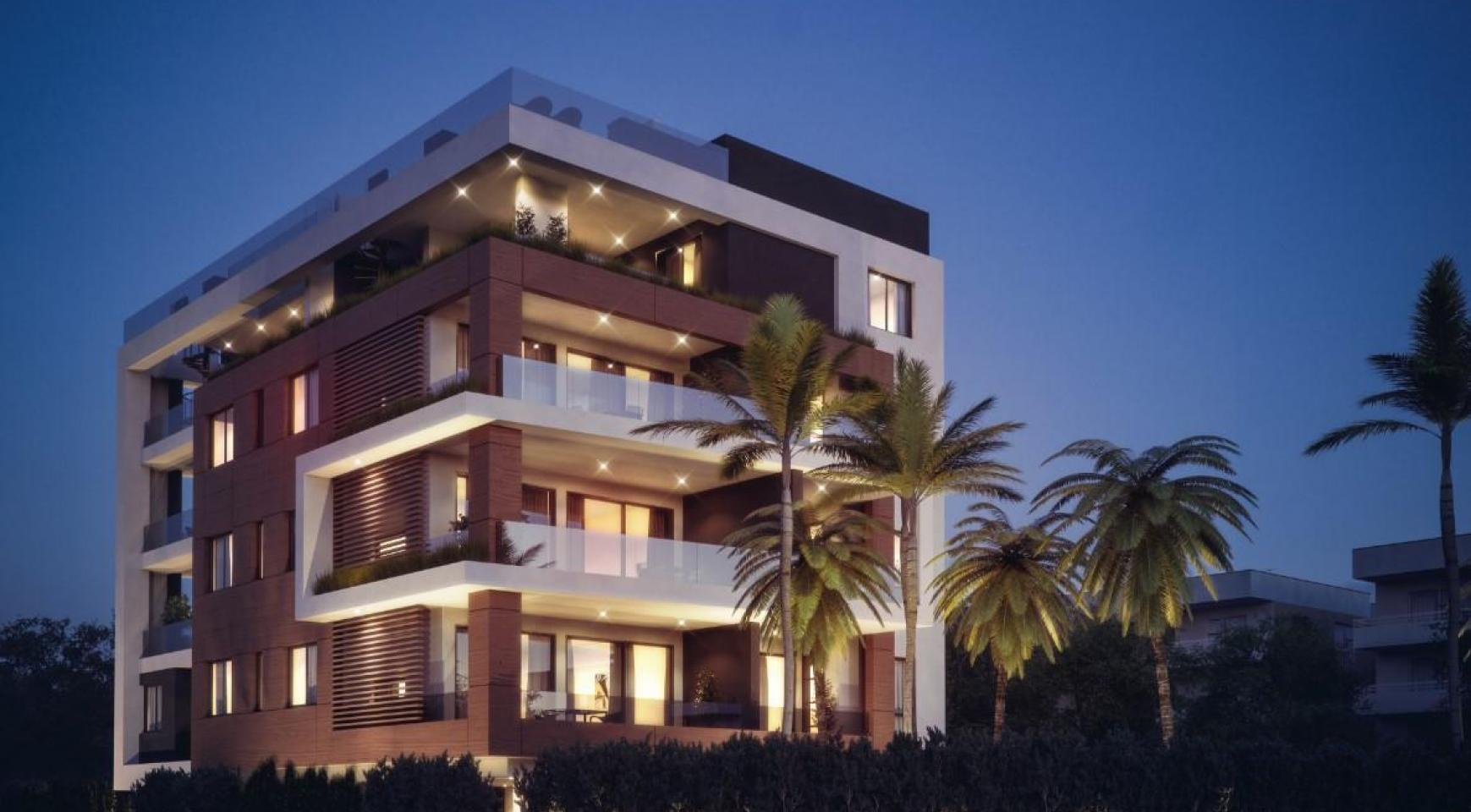 Malibu Residence. Modern 3 Bedroom Apartment 103 in Potamos Germasogeias Area - 3