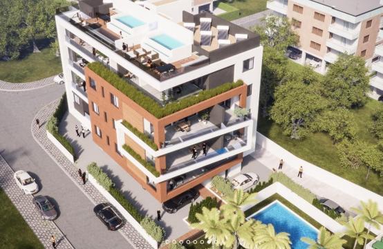 Malibu Residence. Modern 3 Bedroom Apartment 103 in Potamos Germasogeias Area