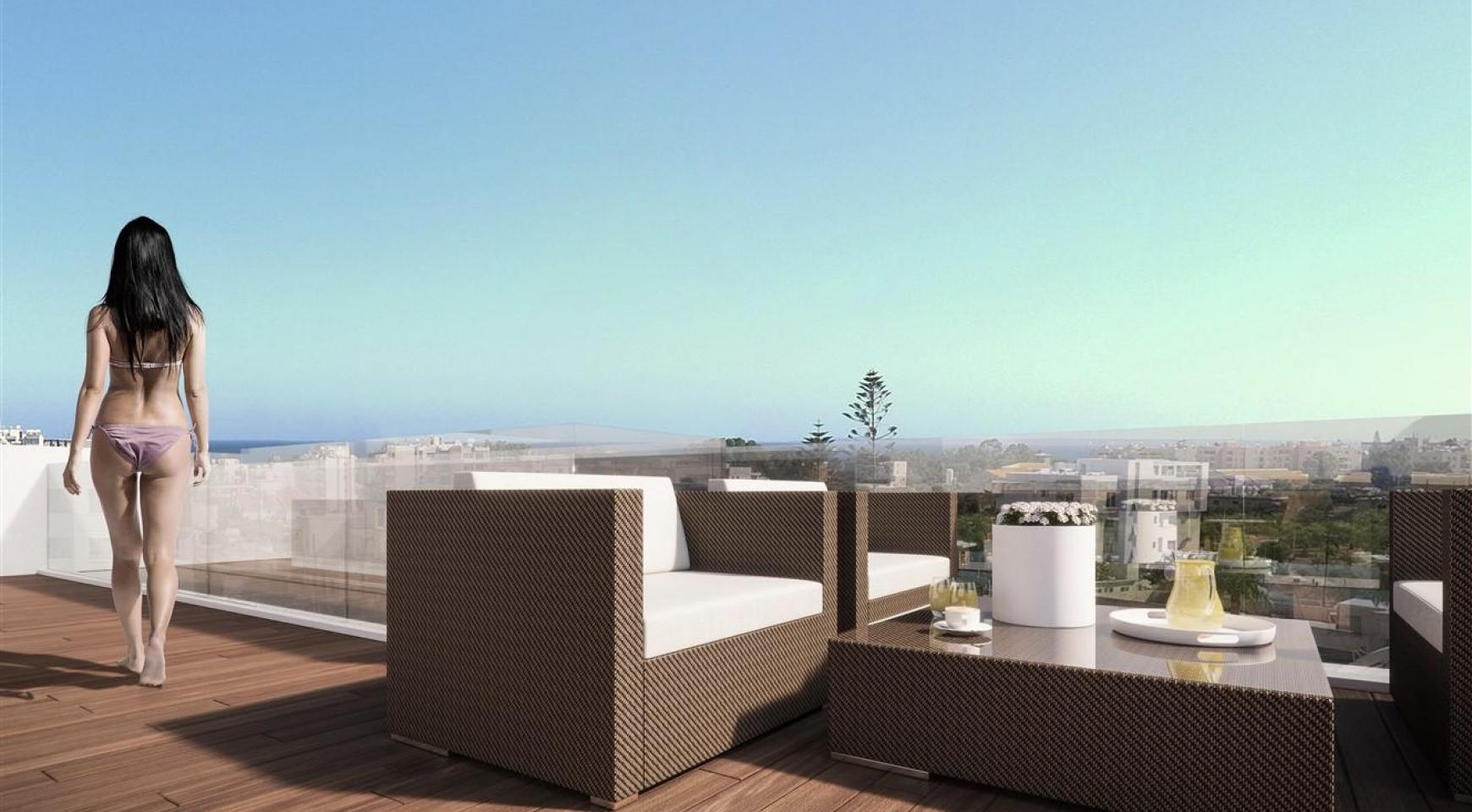 Malibu Residences. Luxury 3 Bedroom Penthouse 402 with Private Swimming Pool - 8