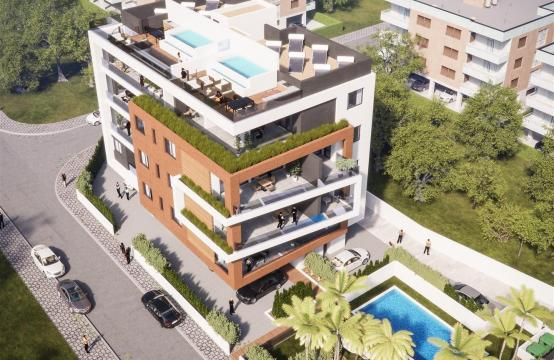 Malibu Residences. Luxury 3 Bedroom Penthouse 402 with Private Swimming Pool