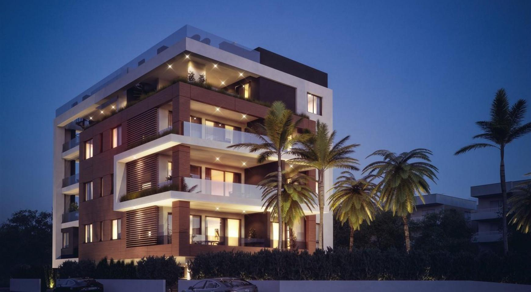 Malibu Residence. Modern One Bedroom Apartment 102 in the Tourist Area - 6
