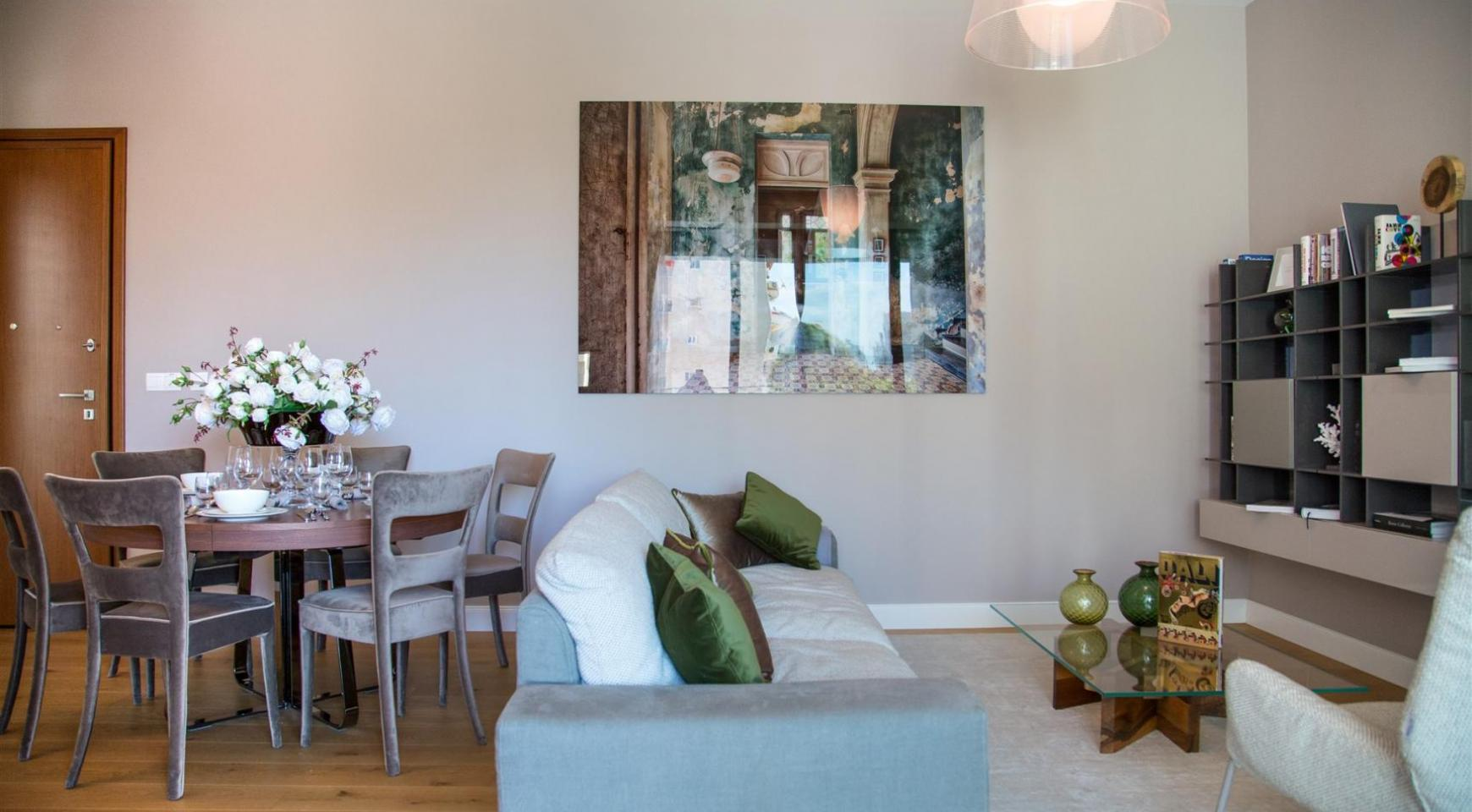 Malibu Residence. Modern One Bedroom Apartment 102 in the Tourist Area - 10