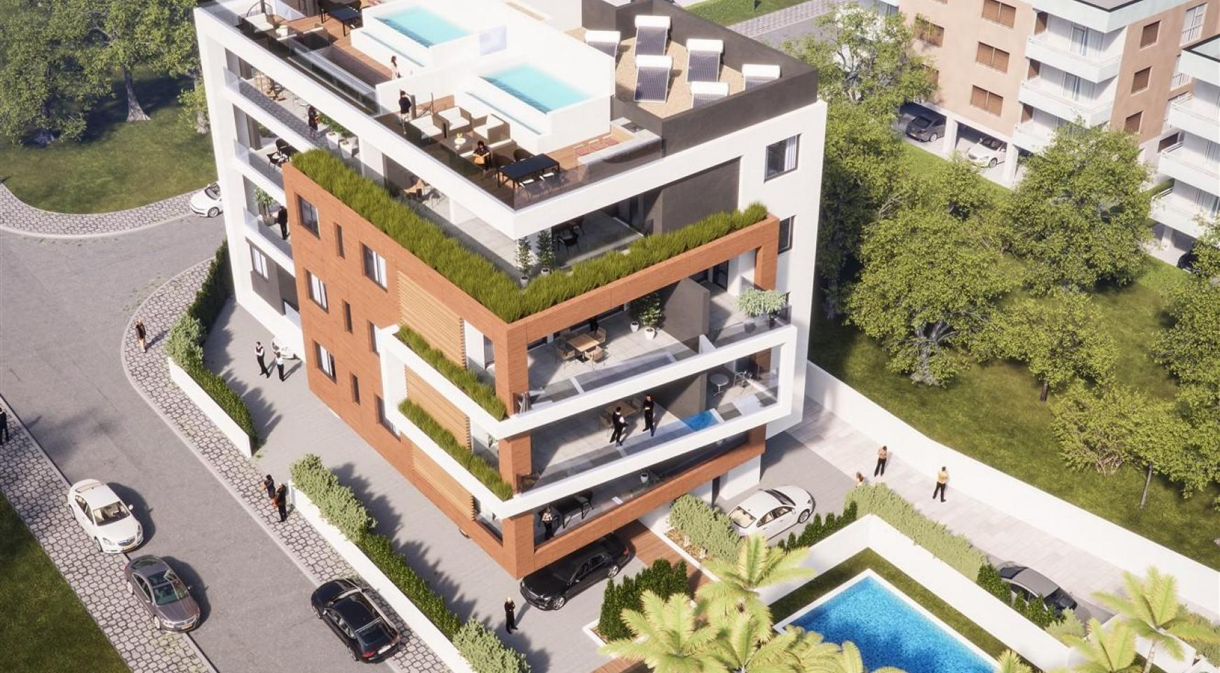 Malibu Residence. New Modern 3 Bedroom Apartment 202 in a Luxury Complex - 1