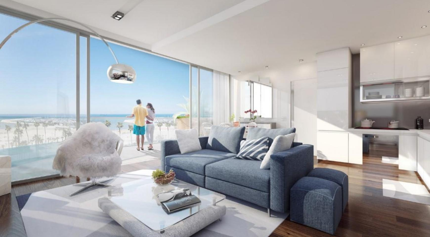 New One Bedroom Apartment near the Sea - 7
