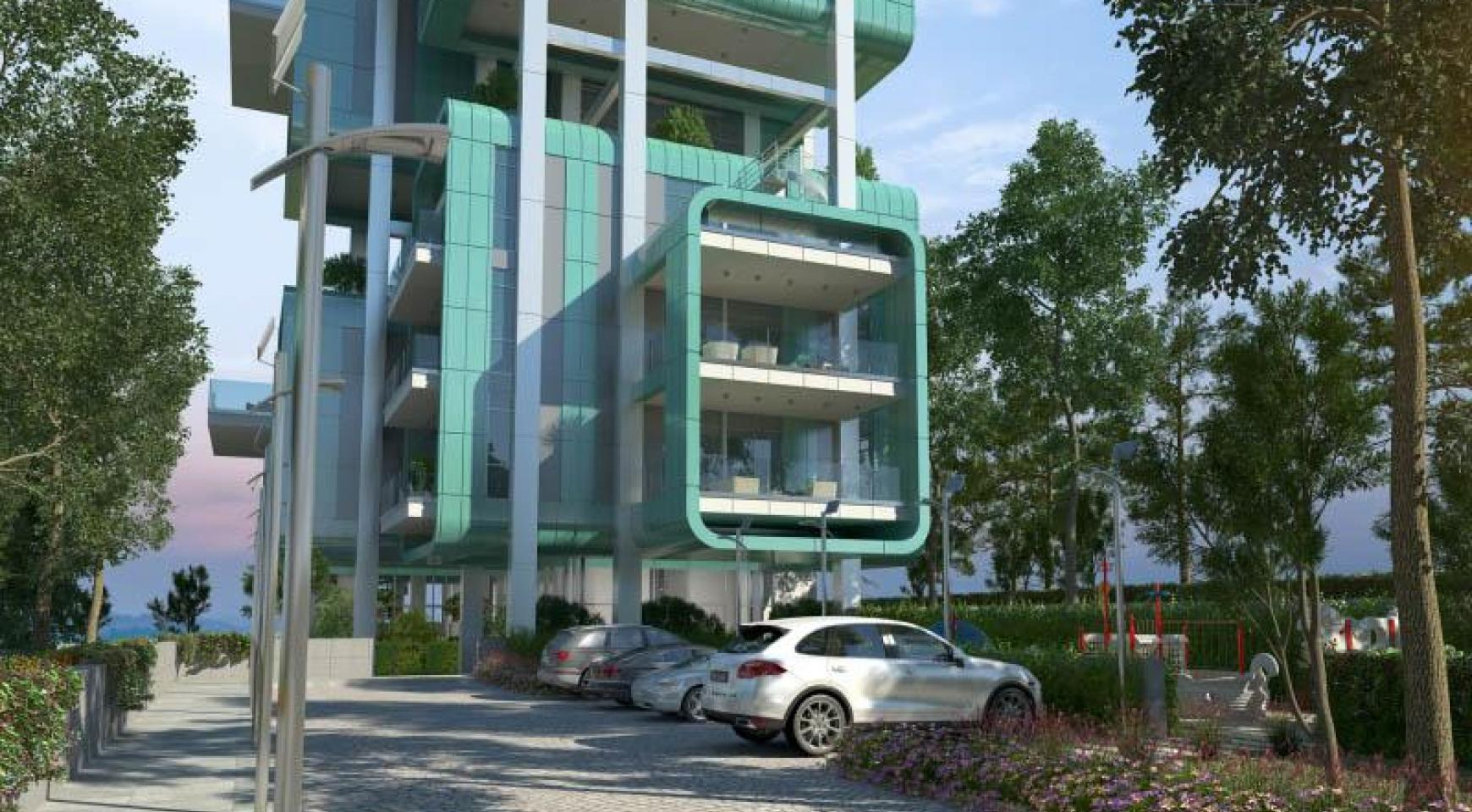 Elite 3 Bedroom Apartment within a New Complex near the Sea - 30