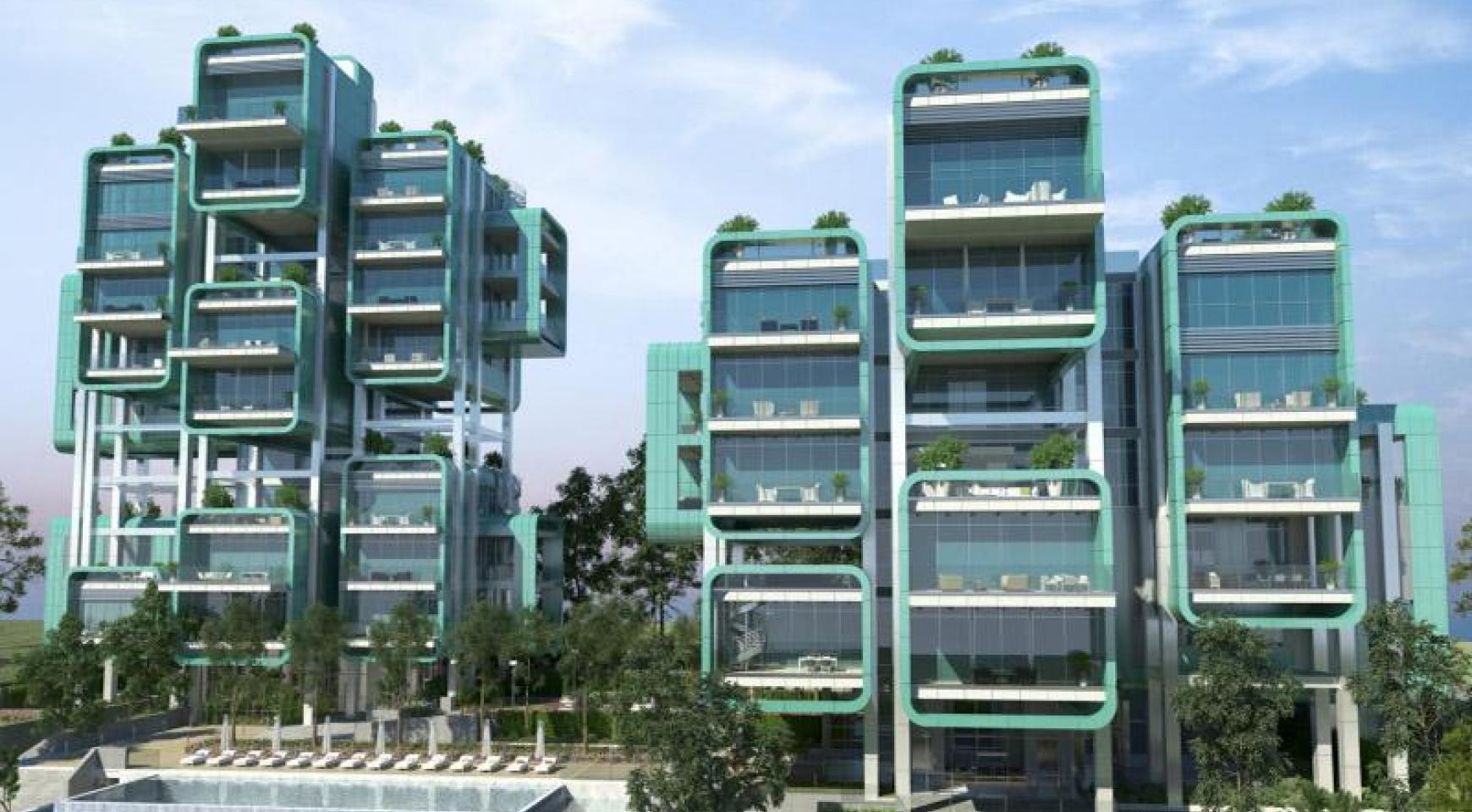 Elite 3 Bedroom Apartment within a New Complex near the Sea - 29