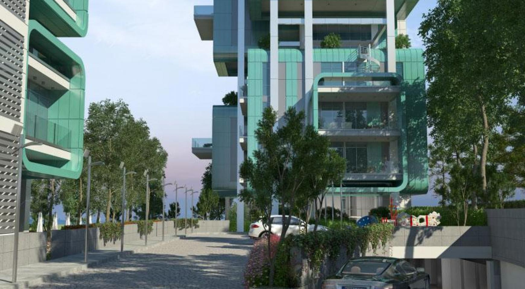 Elite 3 Bedroom Apartment within a New Complex near the Sea - 33