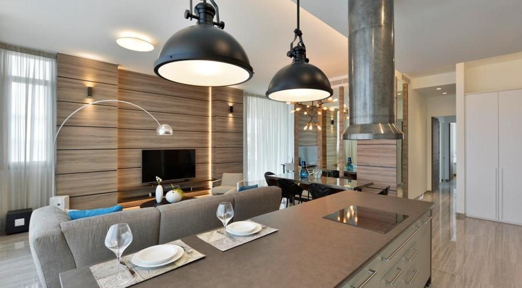 Luxurious 3 Bedroom Apartment within a New Complex near the Sea - 6