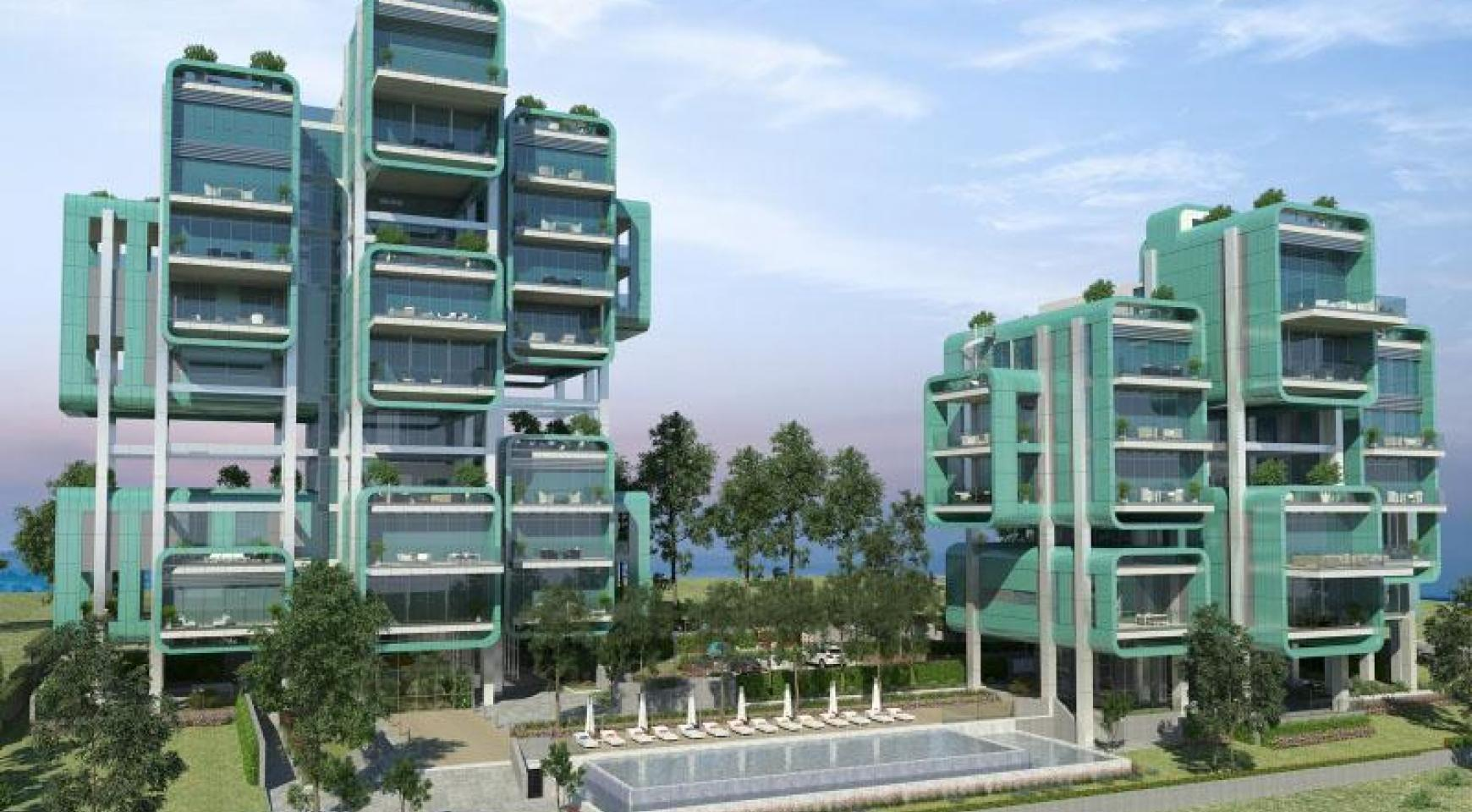 Luxurious 3 Bedroom Apartment within a New Complex by the Sea - 24