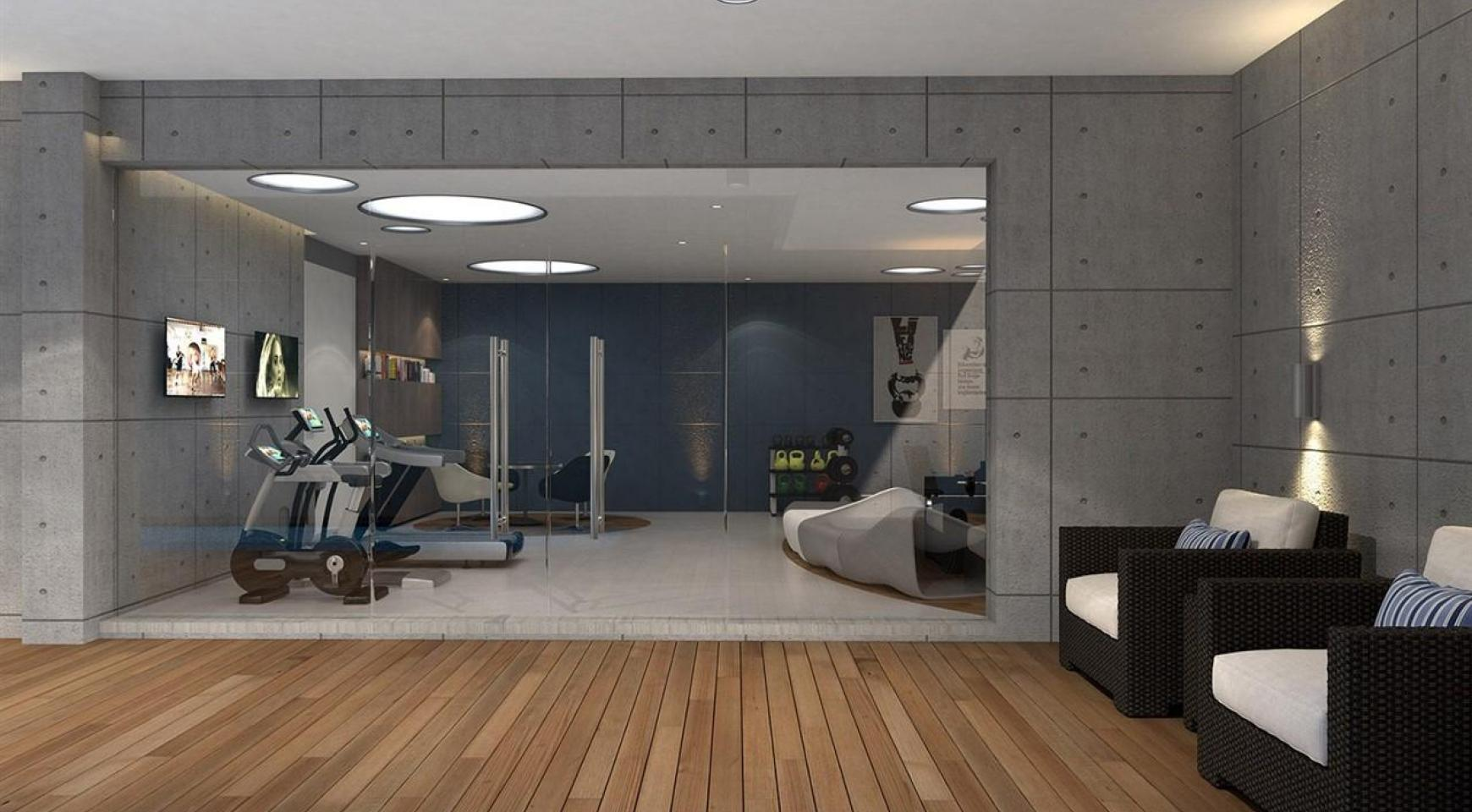 Modern 3 Bedroom Apartment in a New Complex near the Sea - 21