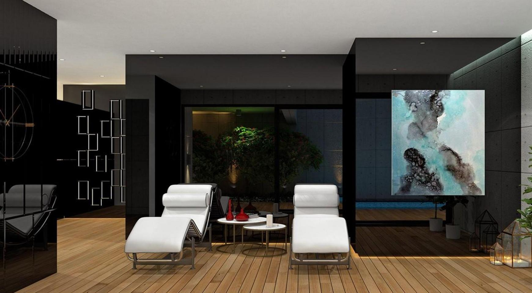 Modern 3 Bedroom Apartment in a New Complex near the Sea - 25