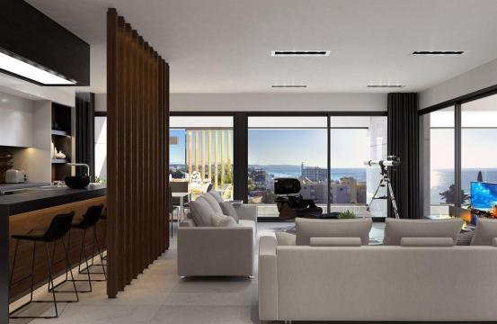 Modern 3 Bedroom Penthouse in a New Complex near the Sea
