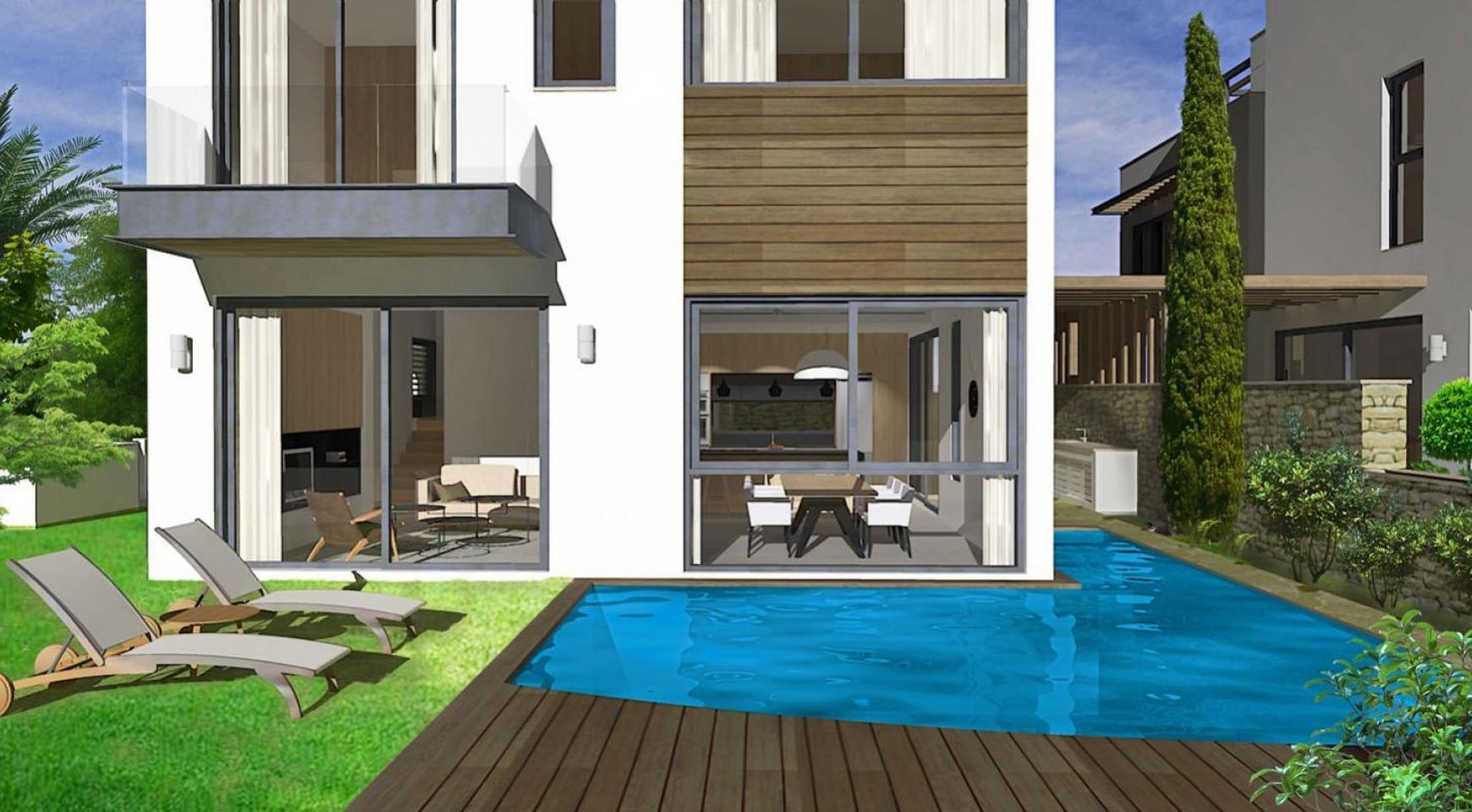 Spacious 4 Bedroom Villa in a New Complex in Agios Athanasios - 1