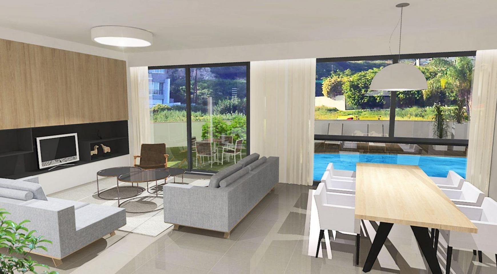 Spacious 4 Bedroom Villa in a New Complex in Agios Athanasios - 2