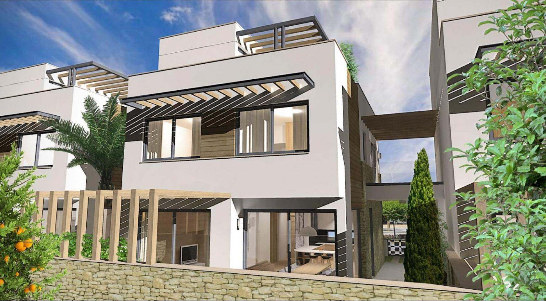 Spacious 4 Bedroom Villa in a New Complex in Agios Athanasios Area - 3