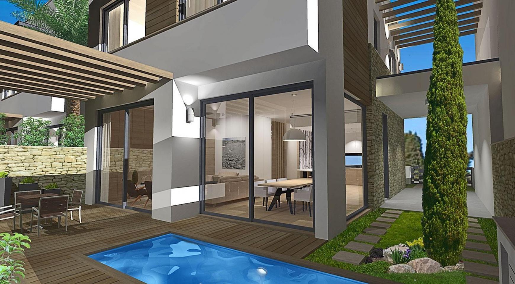 Spacious 4 Bedroom Villa in a New Complex in Agios Athanasios Area - 5