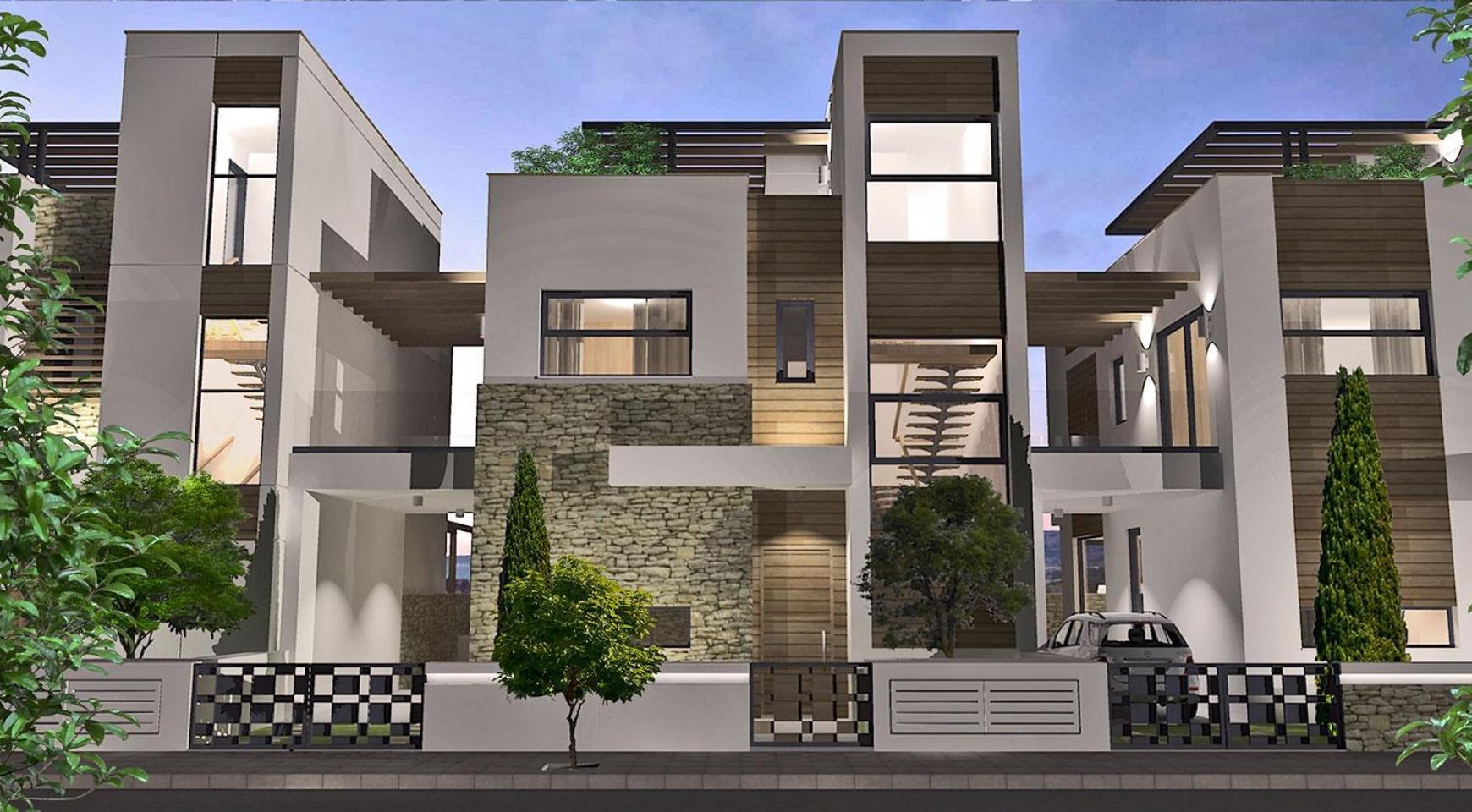 Spacious 4 Bedroom Villa in a New Complex in Agios Athanasios Area - 2
