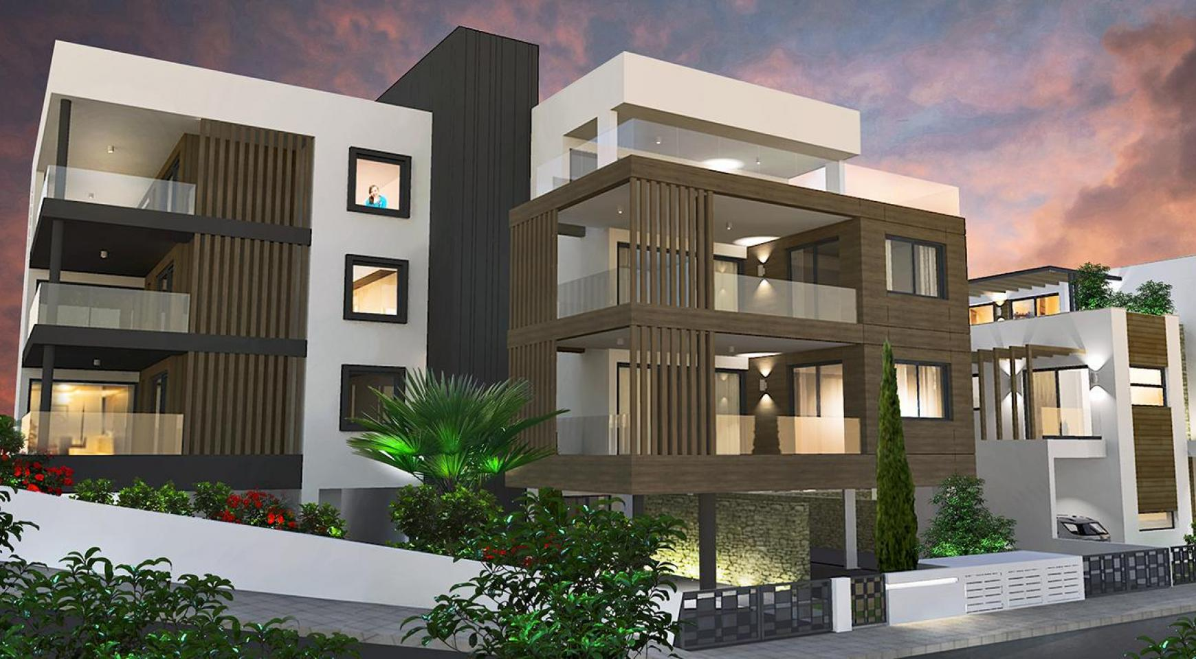 Contemporary 2 Bedroom Apartment in a New Complex in Agios Athanasios  - 15