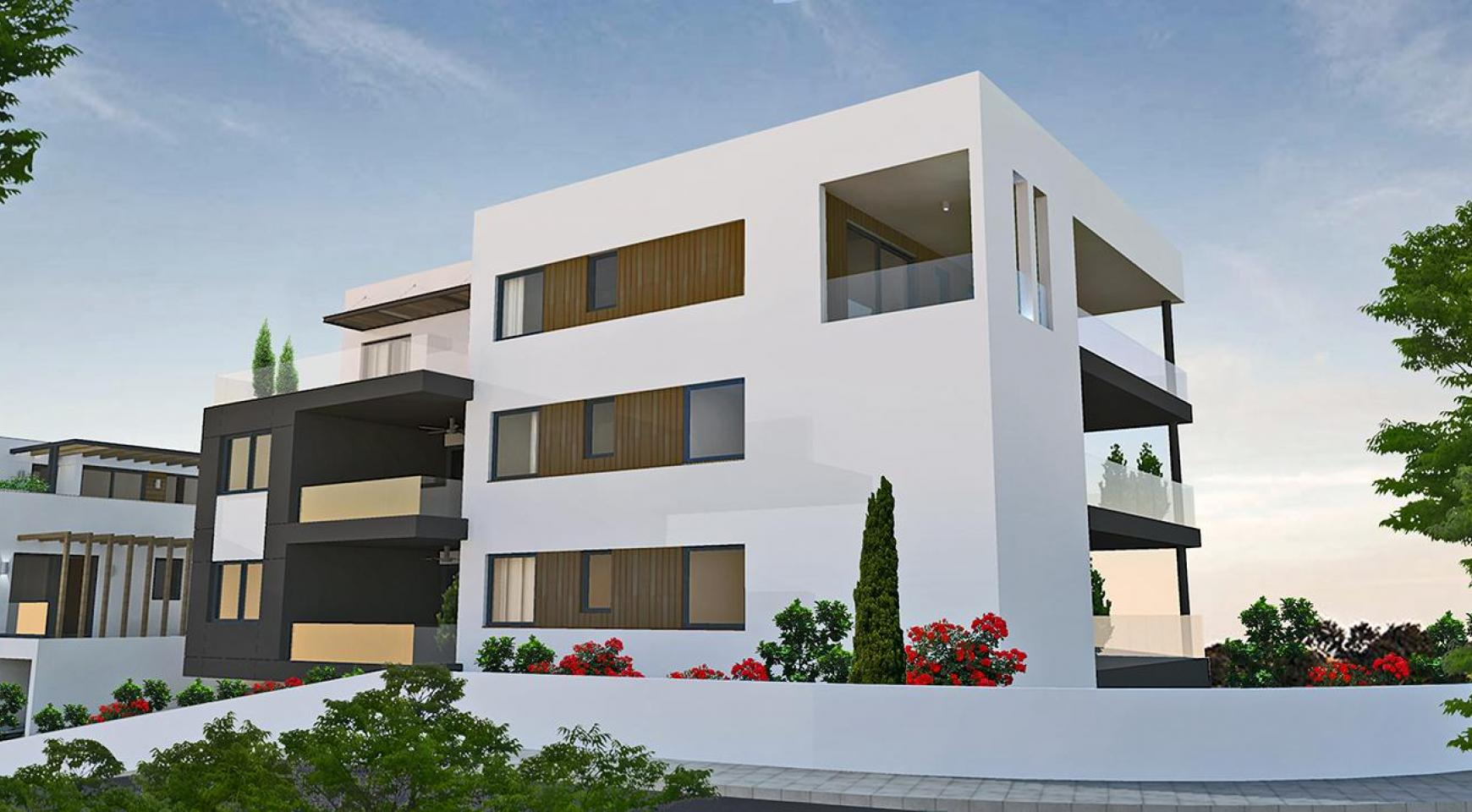 Contemporary 2 Bedroom Apartment in a New Complex in Agios Athanasios  - 12