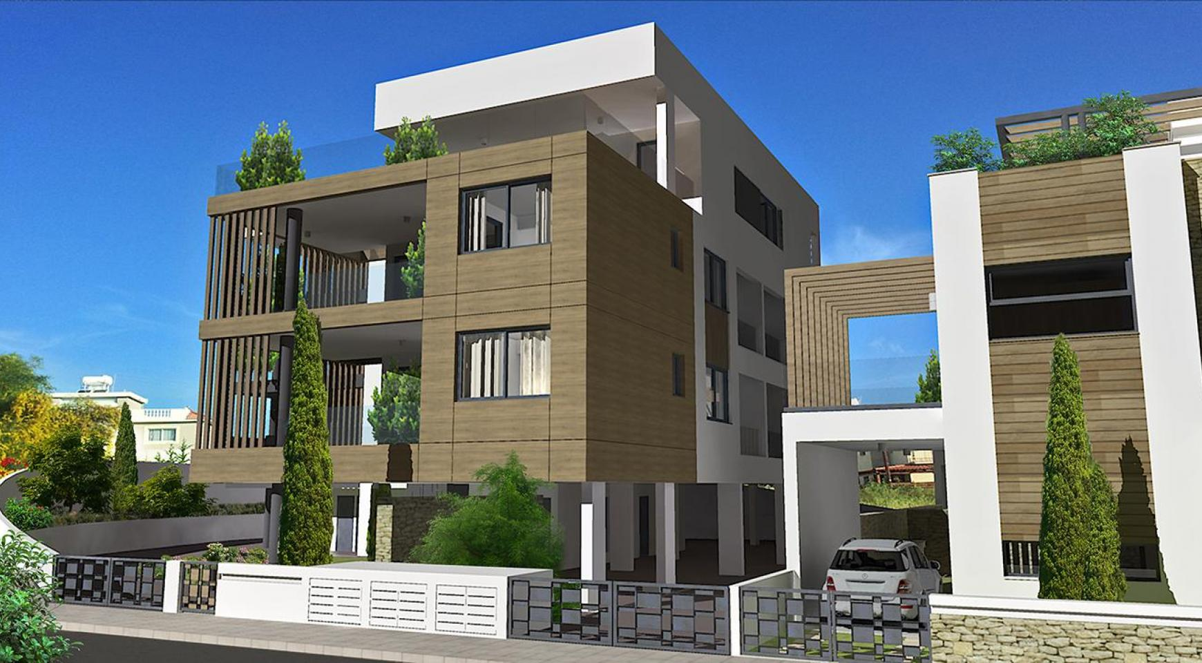 Modern 3 Bedroom Apartment in a New Complex in Agios Athanasios - 18