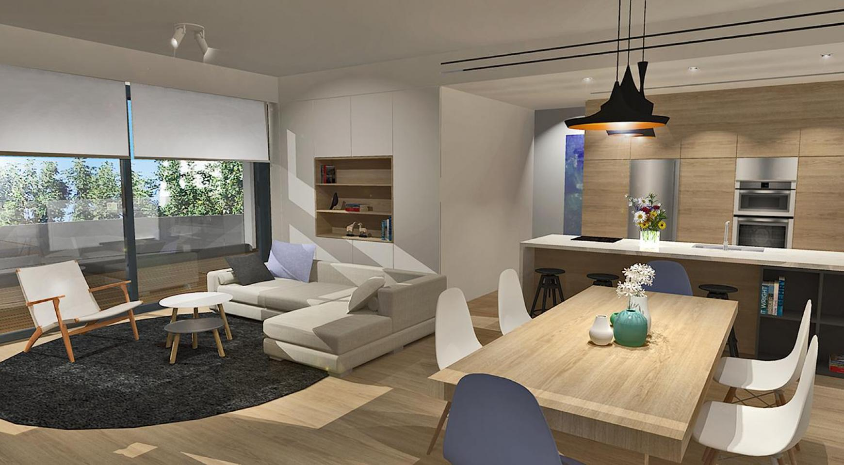 Modern 3 Bedroom Apartment in a New Complex in Agios Athanasios - 3