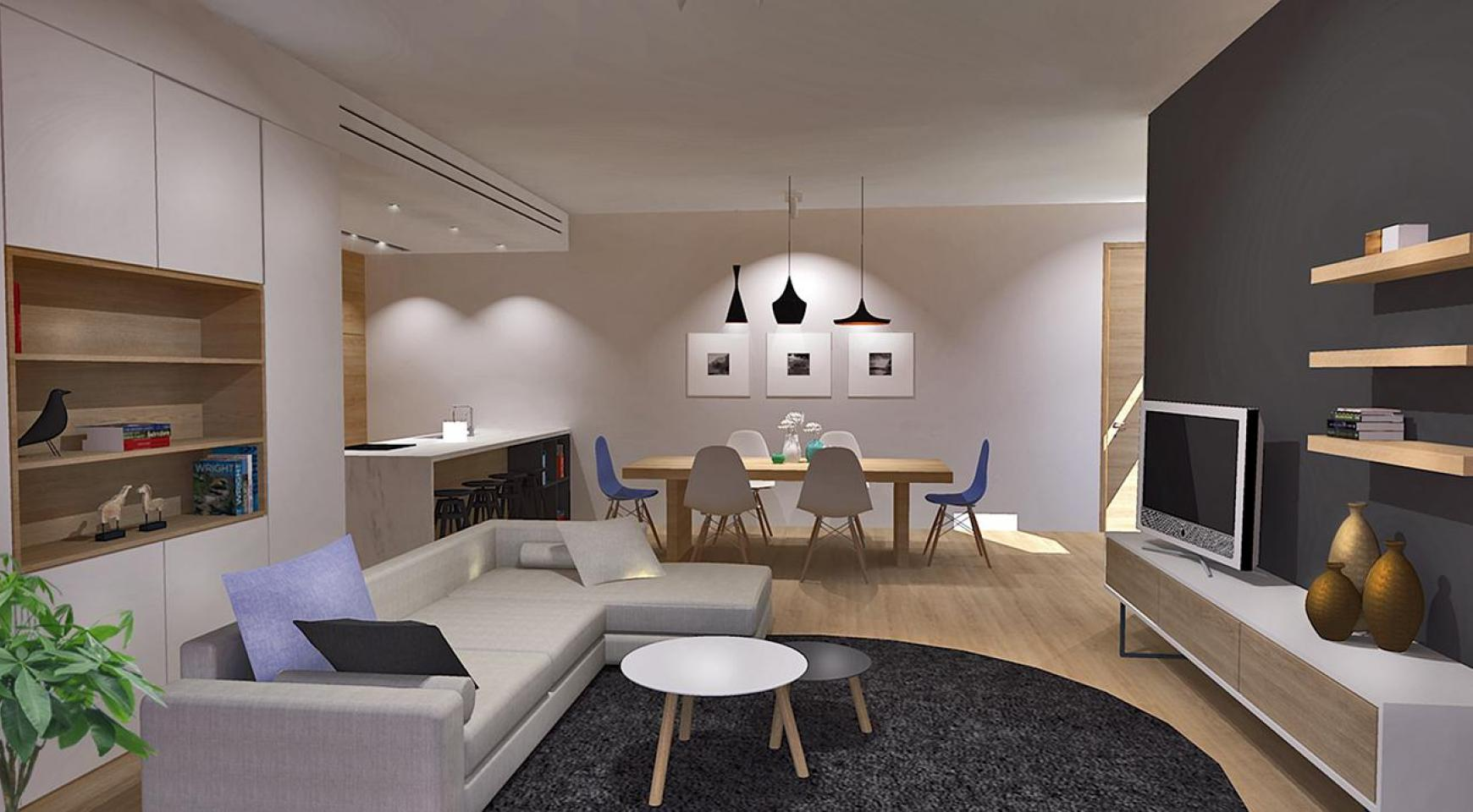 Modern 3 Bedroom Apartment in a New Complex in Agios Athanasios - 1