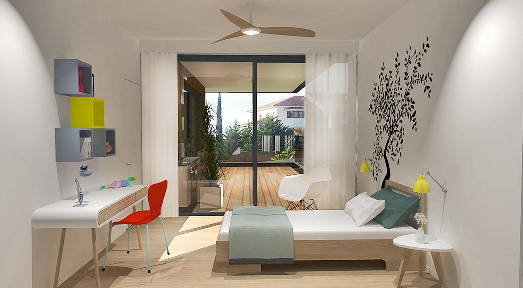 Modern 3 Bedroom Apartment in a New Complex in Agios Athanasios - 6